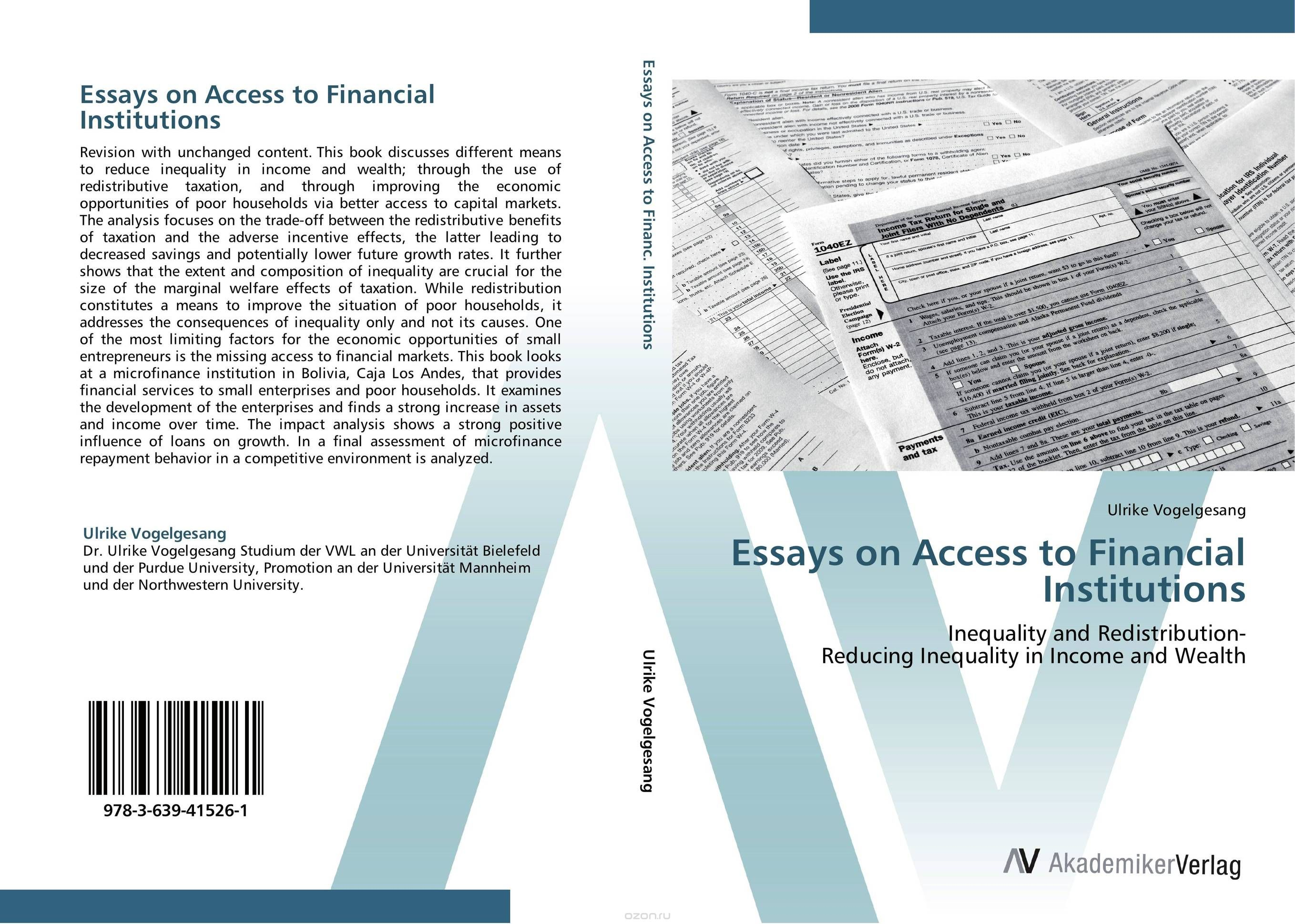 Essays on Access to Financial Institutions